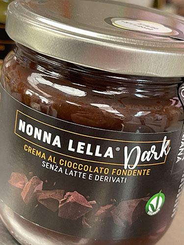 nonna lella dark crema spalmabile gelateria gianni